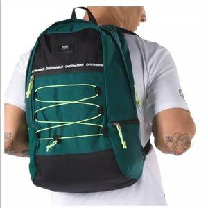 🆕 Vans Snag Plus Backpack-VANS TREKKING GREEN